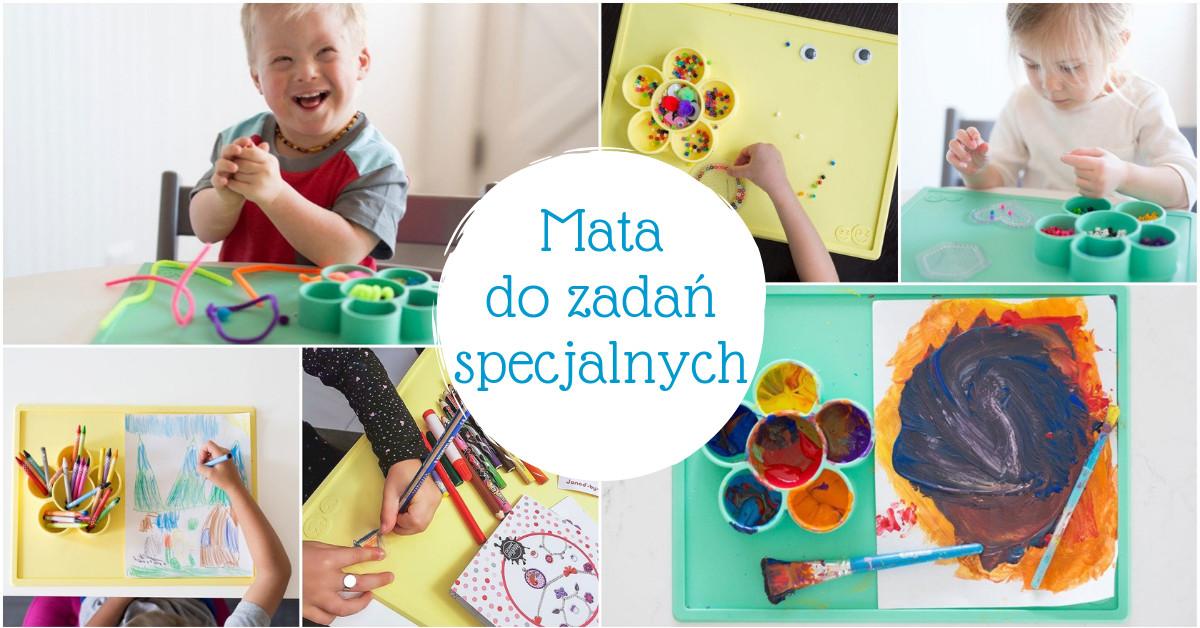 Mata do zabaw plastycznych i kreatywnych