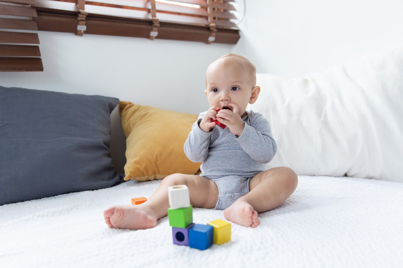 Klocki sensoryczne Plan Toys