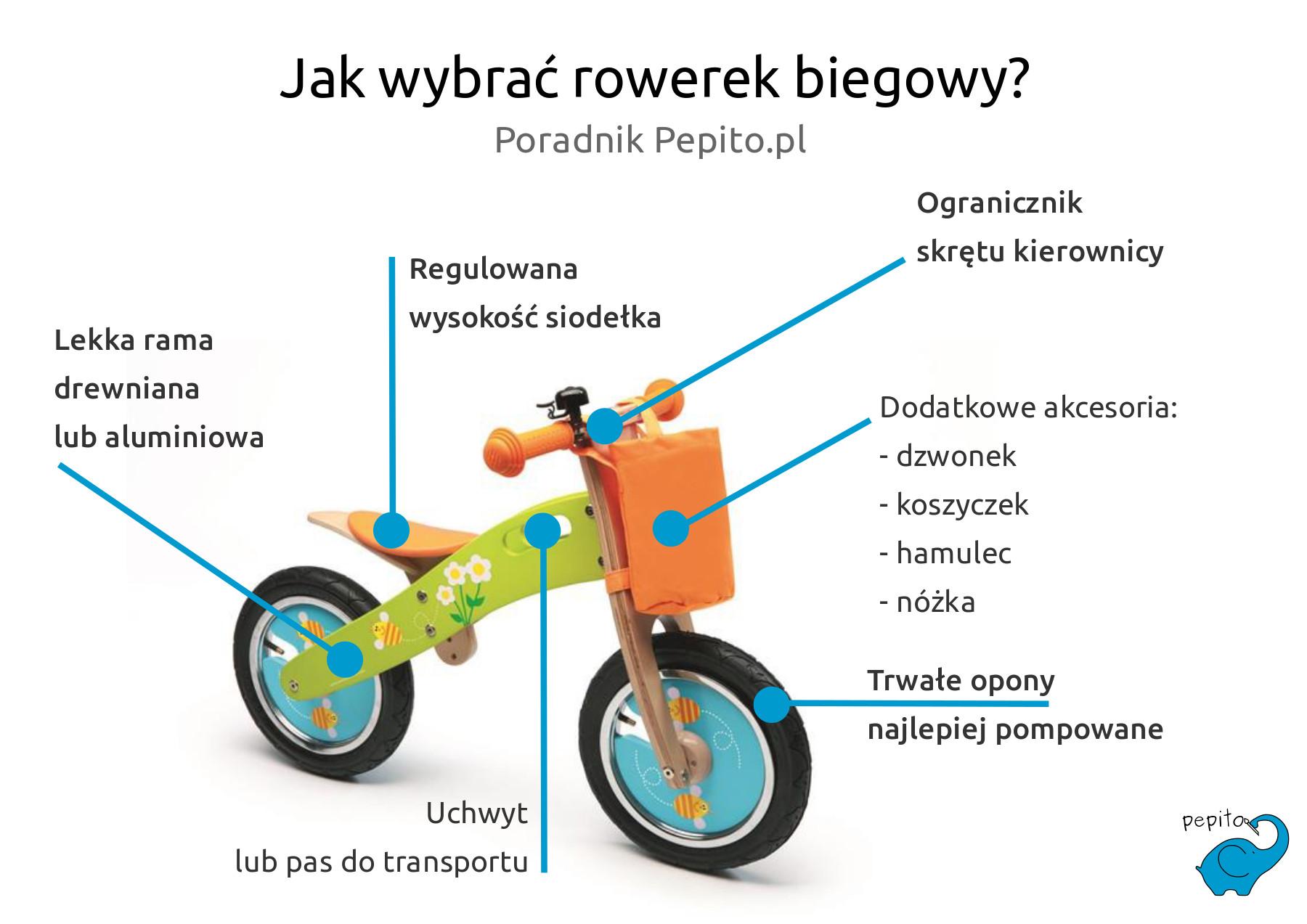 Jak wybrać rowerek biegowy?