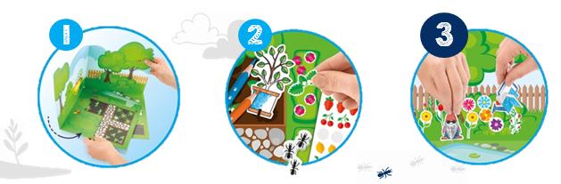 Zestaw kreatywny Ogród Maped Creativ