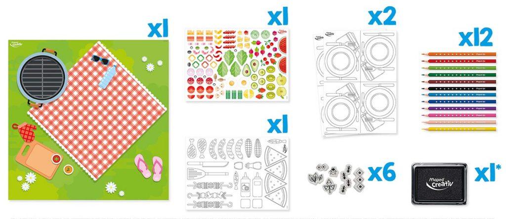 Zestaw kreatywny Piknik Maped Creativ