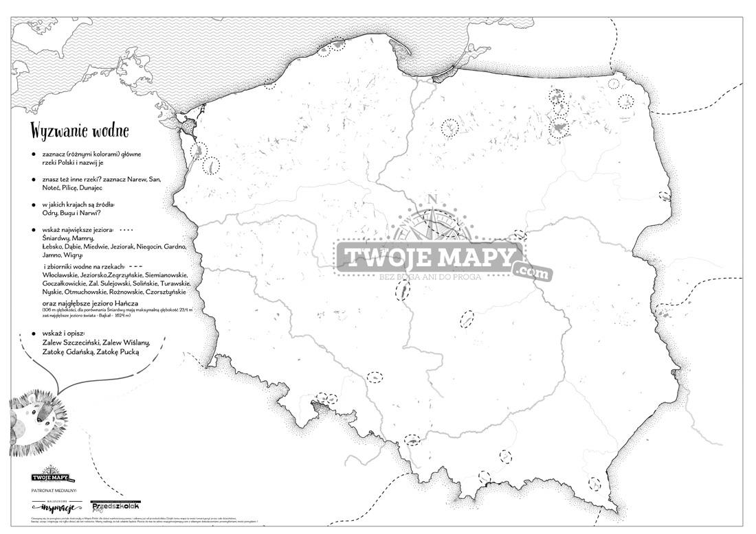 Mapa Polski Dla Dzieci Zestaw Edukacyjny Kolekcje Geografia Dla