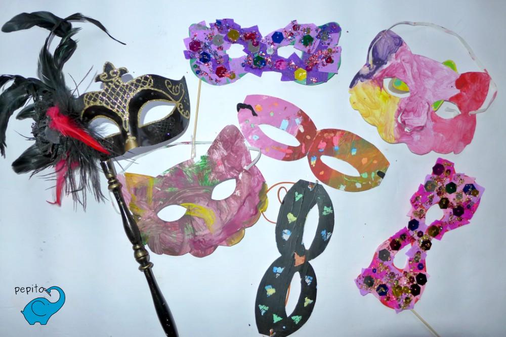 Maski Karnawałowe Dla Dzieci Diy Kreatywne Zabawy Z