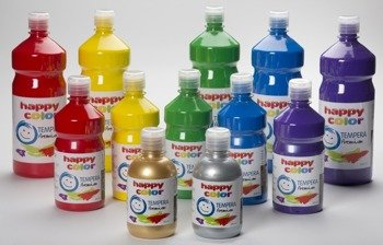 Farba tempera 500 ml Happy Color