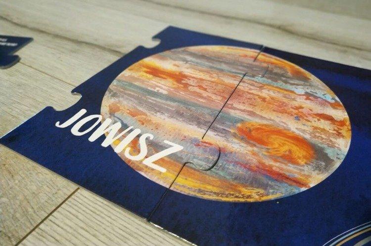 Kosmiczne Puzzle Podłogowe Xl Układ Słoneczny Dla Dzieci