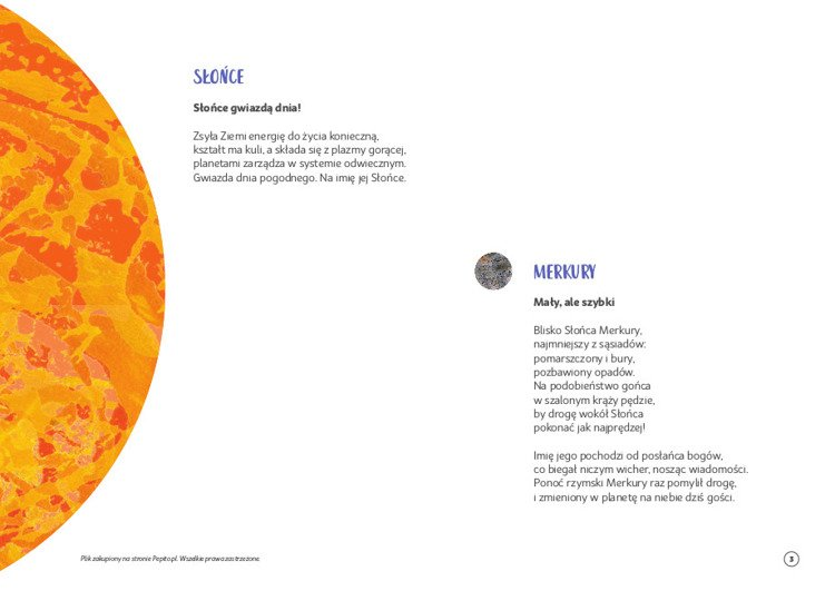 Pdf Do Pobrania Poznaję Układ Słoneczny