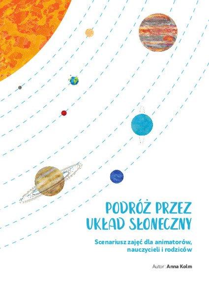 Kosmiczny Zestaw Dla Animatora Puzzle Książka Scenariusz Zajęć