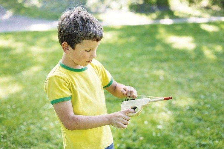Domowa strzelnica dla dzieci
