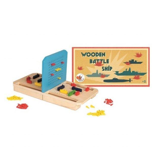 Drewniana gra w statki | Egmont Toys®