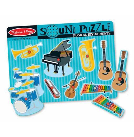 Puzzle dźwiękowe - Instrumenty