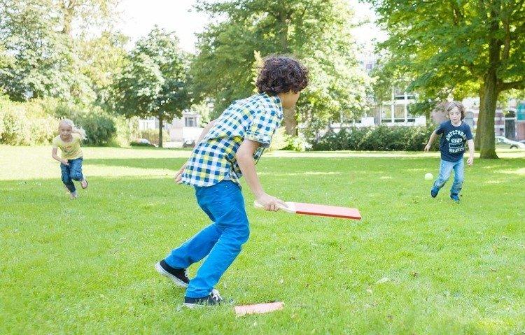 Gra Baseball Buiten Speel