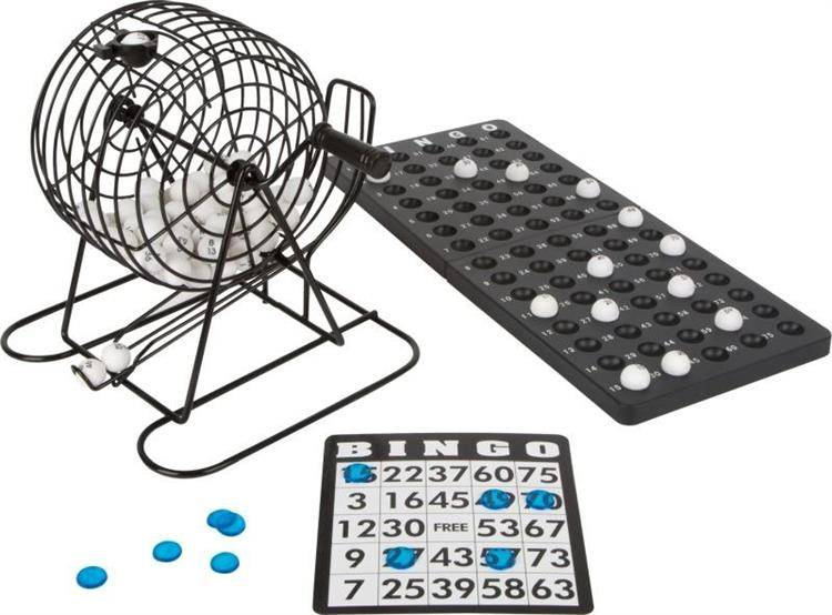 Gra Bingo z kulą losujacą