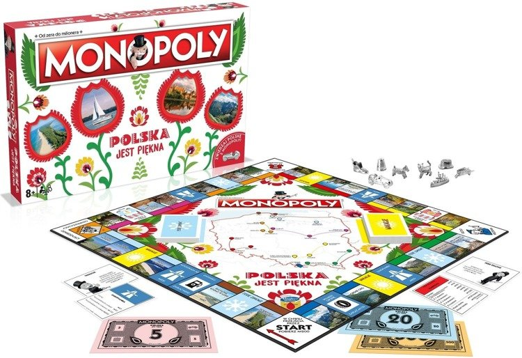 Gra Monopoly Polska jest piękna
