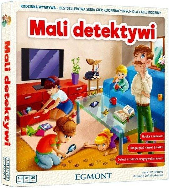 Gra kooperacyjna dla dzieci Rodzinka wygrywa, Mali detektywi Egmont