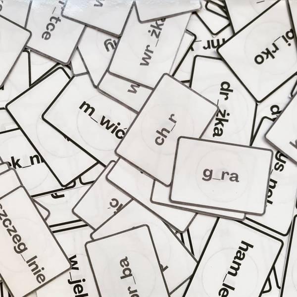 Gra ortograficzna z ó i u