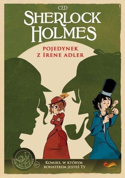 Komiks Paragrafowy: Sherlock Holmes. Pojedynek z Irene Adler