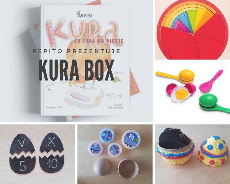 Wielkanocny zestaw kreatywny Kura BOX