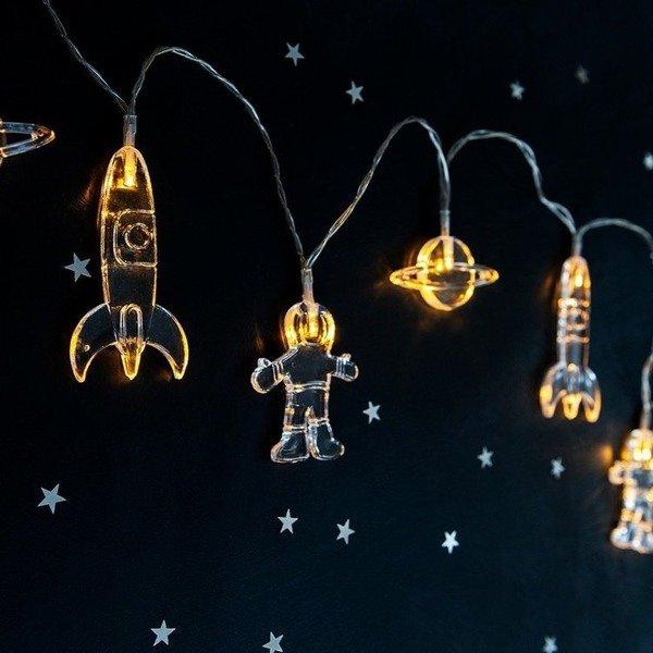 Łańcuch lampek LED, Kosmiczna podróż, Rex London