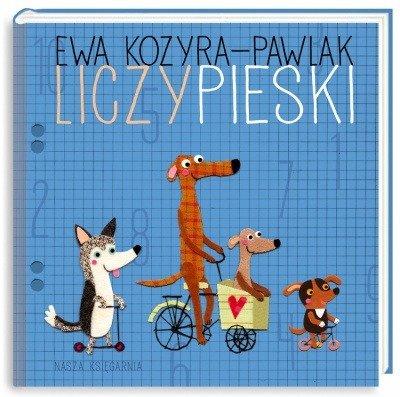 Liczypieski Ewa Kozyra-Pawlak wyd. Nasza Księgarnia