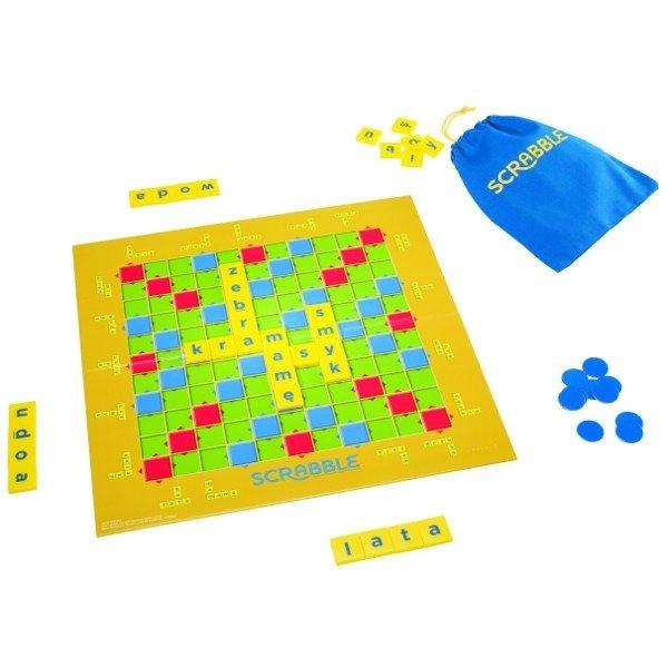Gra słowna dla dzieci Scrabble Junior