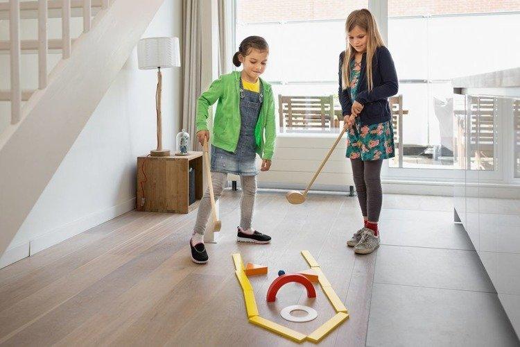 Mini Golf - gra zręcznościowa dla dzieci Buiten Speel