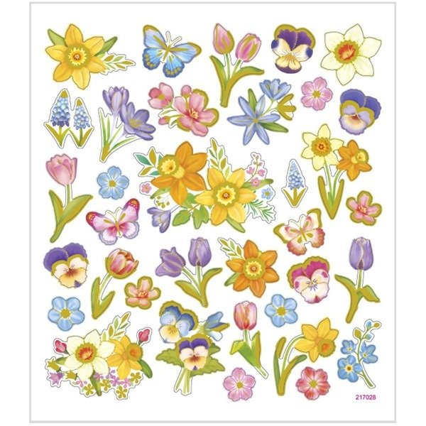 Naklejki Kwiaty Wiosenne
