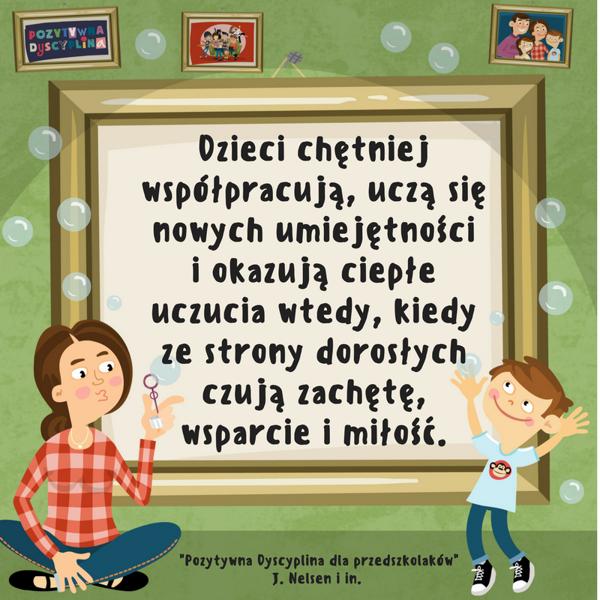 Pozytywna Dyscyplina dla przedszkolaków – Jane Nelsen