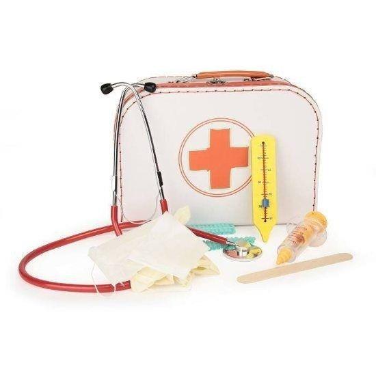 Zestaw małego lekarza z prawdziwym stetoskopem