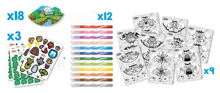 Zestaw DIY Memory - Koloruj i Baw się Maped Creativ