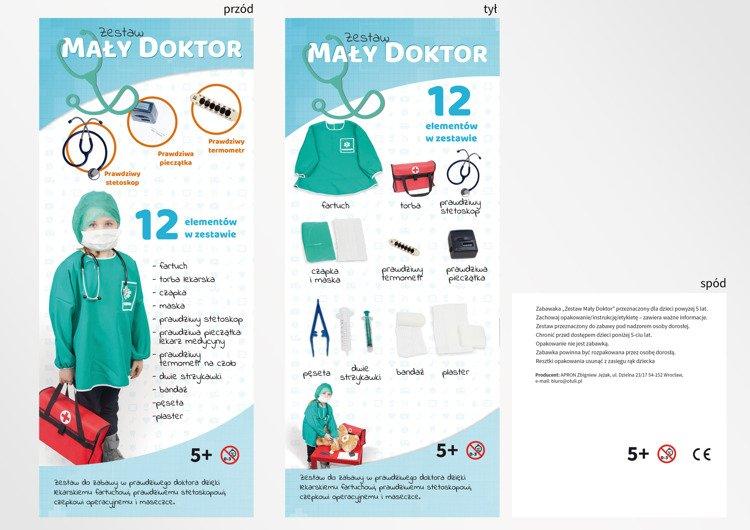 Zestaw Lekarski Dla Dziecka Z Prawdziwym Stetoskopem Kolekcje