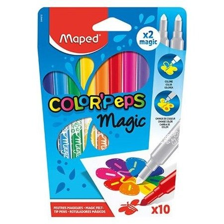 Flamastry magiczne Maped Colorpeps Magic 10 szt.