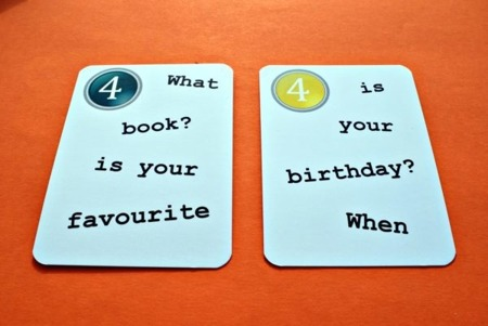 Fun Card English My First 50 Questions