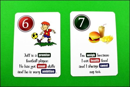 Fun Card English Word Formation