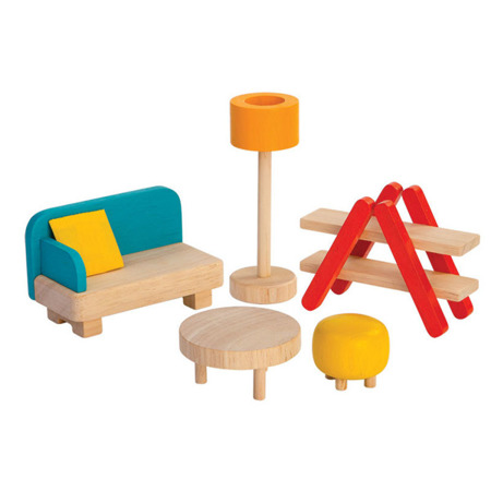 Mebelki do domku dla lalek Salon Plan Toys