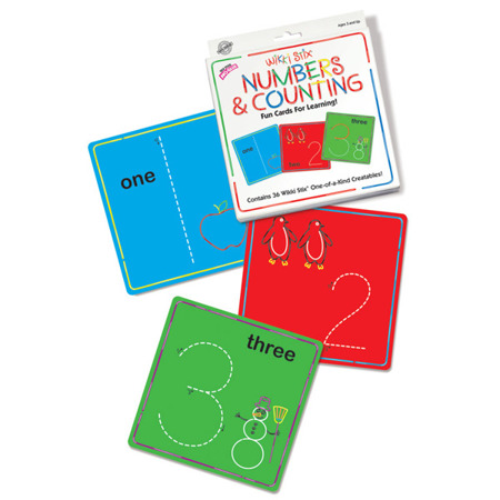 Wikki Stix Numbers & Counting