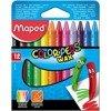 Kredki świecowe Maped Colorpeps 12 szt.